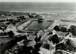 Alter Hafen 1960 Horumersiel Schillig